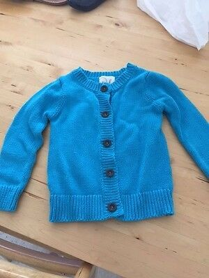 Peek girls blue sweater size 4-5