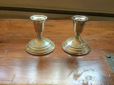Towle Sterling Silver Candlesticks