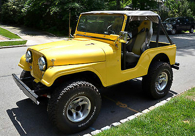 1964 Jeep CJ  Kaiser Willys Jeep CJ5 1964 with Hot Rodded Chevy 350 V8 Power