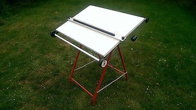 A1 vintage architects designers artists drawing board table - Royal Sovereign