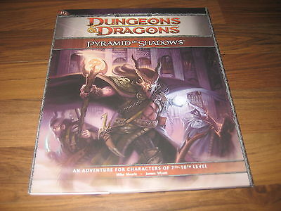D&D 4th Edition H3 Pyramid Of Shadows Adventure WotC TOP