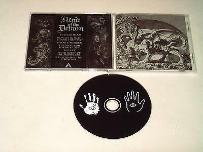 Head Of The Demon - Cd 2012 Doom Metal D58