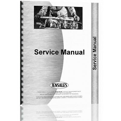 New Service Manual Made for Case-IH International Harvester Tractor Model 1120
