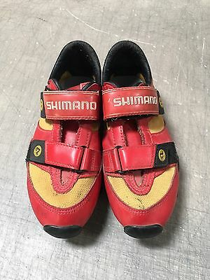 Shimano SPD Bicycle Shoes Youth Size 4.5 SPD Cleats Included