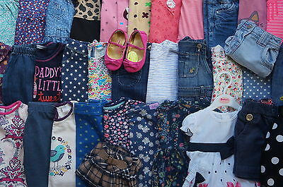 Bundle of girls clothes from 12-18 months old-FULL LIST &LOTS OF PICTURES INSIDE