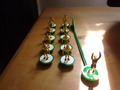 Subbuteo Norwich city 1980s team unboxed