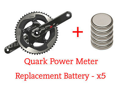 Quarq Power Meter - SRAM Red / Rotor - Replacement Batteries - x5