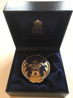 Royal Worcester Trinket Box, 50th Anniversary of HM The Queen's Coronation.
