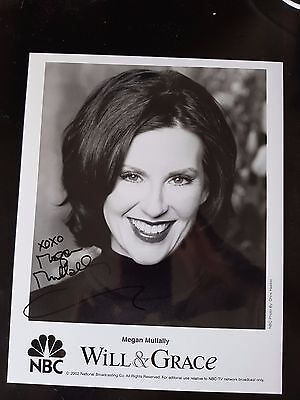 Megan Mullally Actress Will & Grace Signed Autographed Auto 8x10 Photo w/coa