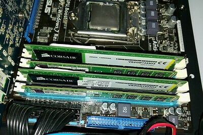 Bundle Asus p7h55-m + Intel i5 650 + 8GB Ram Corsair/Kingston + Masterizz. IDE