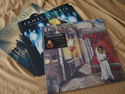 Dream Theater Images and Words Enjoy the Ride 2012 DLP Vinyl + 2 x James LaBrie