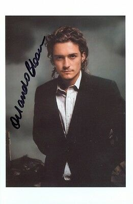 Orlando Bloom Actor Lord of the Rings Troy Signed Autographed 4x6 Photo w/coa