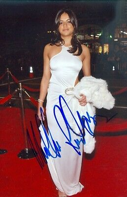 Michelle Rodriguez Actress Fast & the Furious Signed Autographed 4x6 Photo w/coa