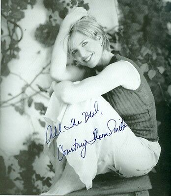 Courtney Thorne-Smith Actress Two & a HalfMen Signed Autographed 8x8 Photo w/coa