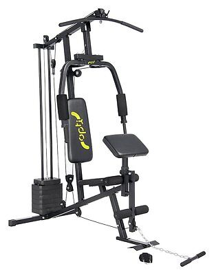 Home Fitness Equipment Multi Gym Weights Training Exercise Machine Seat Bar Set