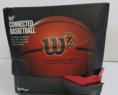 *New* Wilson X Connected Smart Basketball Womens 28.5 Sensor that Tracks Shots