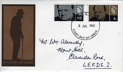 GB First Day Cover 8th July 1965 Sir Winston Churchill