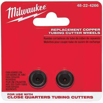 Milwaukee 48-22-4266 2pc Close Quarter Replacement Cutter Wheels New