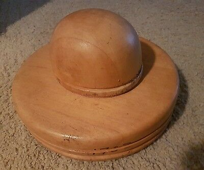 Millinery Wooden Hat Block