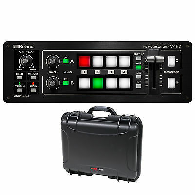 Roland V-1HD Video Switcher with Waterproof Case