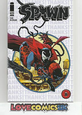Spawn Silver Foil Store Thank You Variant Marvel Comics NM/M