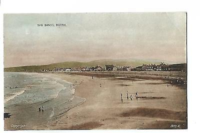 Borth. The Sands. Posted at Borth.