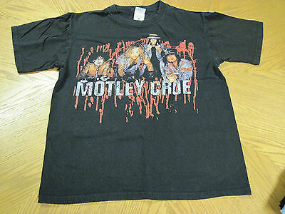 Motley Crue Carnival of Sins 2005 Medium Black Concert T-shirt
