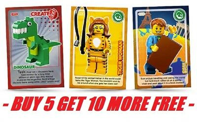 Lego Cards Sainsburys Create The World Card Series 1 2017 In Stock Pick / Choose