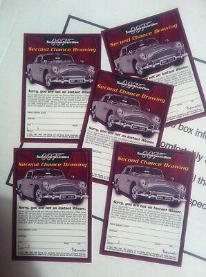 Tomorrow Never Dies James Bond Aston Martin Second Chance Cards!