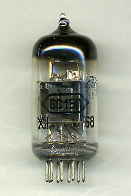 Rare! 1x 6S15P Audiophile Triode Tube 1960s (WE417 WE437 5842 CV5112) NOS Tested