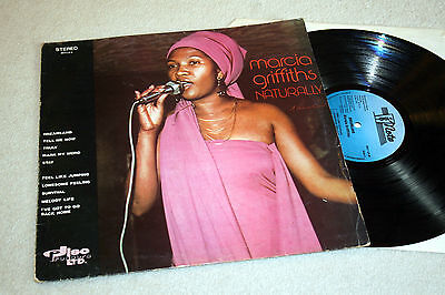 MARCIA GRIFFITHS naturally. uk 1st press Skynote Records