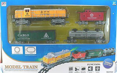 O Scale Battery Operated Diesel Train Set With Track