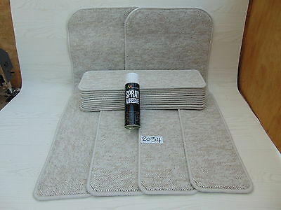 Stair pads 60cm wide 15 off and 2 Big Mats with a FREE can of SPRAY GLUE 2034-3