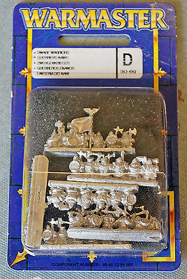 Warmaster Dwarf Warriors pack ... new