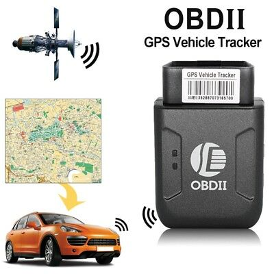 TK206 OBD2 Car Vehicle OBDII Interface GPS GSM GPRS Tracker with Vibration Alarm