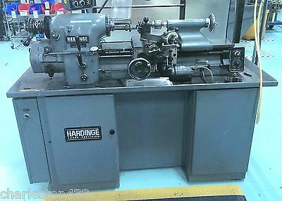 Hardinge Super-Precision® Toolroom Lathe, HLV-H, Well Maintained, Late Model