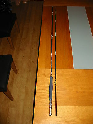 Old Vintage Shakespeare Alpha 1650-270 Fly Game Fishing Rod Salmon Trout Tackle