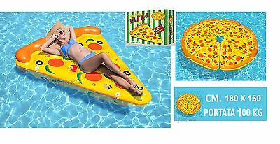 Mattress Inflatable Form Of Pizza Sea pool Hammock Relaxation Max 100 Kg