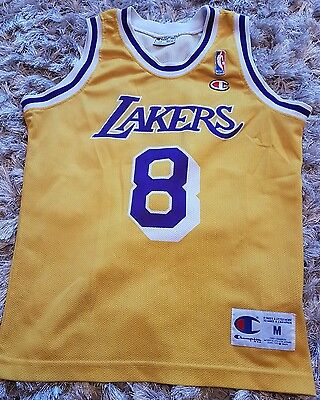 bryant lakers jersey/ top. junior size 9/10 years