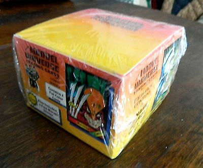 1987 MARVEL UNIVERSE 1   One    SEALED CARD BOX  - 50 packs    VERY RARE