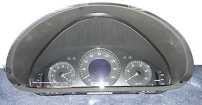 Mercedes CLK270 CDI Instrument Panel W209