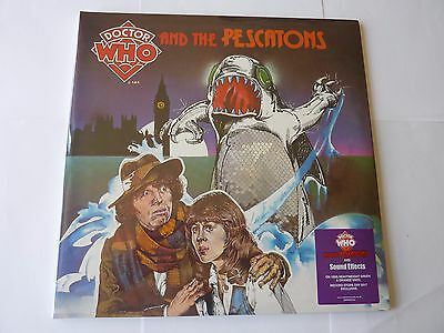 Doctor Who And The Pescatons Rsd 2017 New Sealed