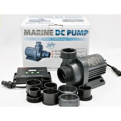 Jebao DCP-5000/6500/8000/10000/18000 Water Return Pump Sine Wave Technology