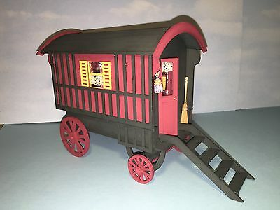"Dolls house Gypsy Caravan 1/4"" Scale 1/48th  Kit"