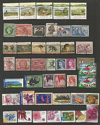 Australia   -  Selection Of Used Stamps.