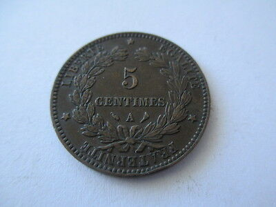 France 5 Centimes 1897. A