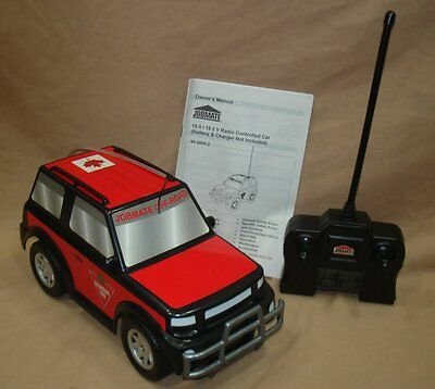 OLDER RELEASE CANADIAN TIRE RED JOBMATE 27 MHz RADIO CONTROL CAR NEW IN BOX