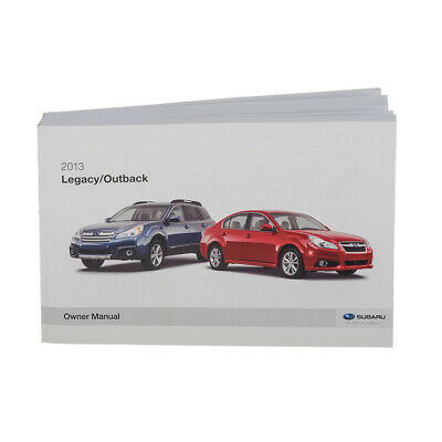 2013 SUBARU FORESTER Owner's Manual OEM NEW MSA5M1303A