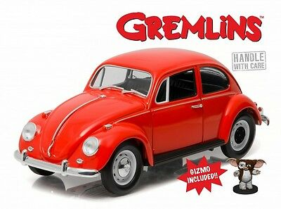 Gremlins 1967 Volkswagen Beetle 1:18 Scale Diecast Model With Gizmo Figure