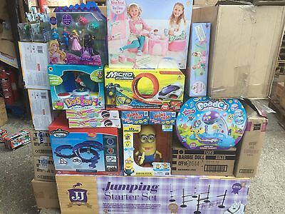 Wholesale Job lot Pallet Mixed Branded Toys damaged packaging